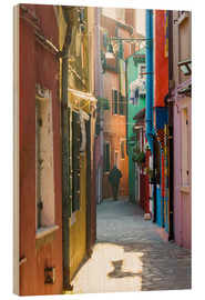Wood  Alley in Burano, Venice - Matteo Colombo