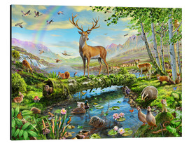 Aluminium print  24402 Wildlife Splendor UK - Adrian Chesterman