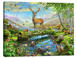Canvas print  24402 Wildlife Splendor UK - Adrian Chesterman