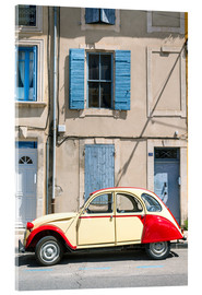 Acrylic print  Citroen 2CV car, France - Matteo Colombo