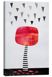 Canvas print  The Red Tree - Elisabeth Fredriksson