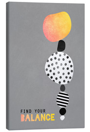 Canvas  Find your balance - Elisabeth Fredriksson