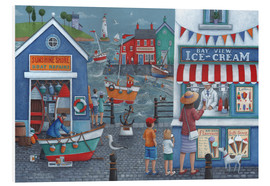 Foam board print  Seaside icecreams - Peter Adderley