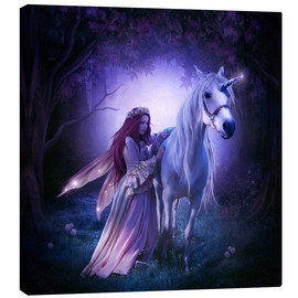 Canvas print  Unicorn - Elena Dudina