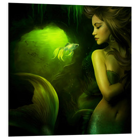 Foam board print  The mermaid - Elena Dudina