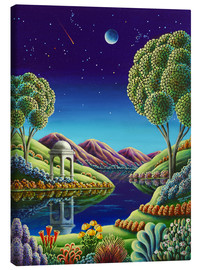 Canvas print  Blue Moon Rising - Andy Russell