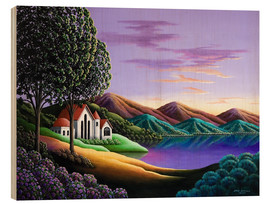 Wood print  Home - Andy Russell