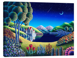 Canvas print  Blue Moon - Andy Russell