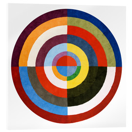 Acrylic print  First Disk - Robert Delaunay