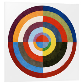 Foam board print  First Disk - Robert Delaunay