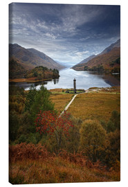 Canvas  Glenfinnan Monument - Scotland - Martina Cross