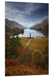 Foam board print  Glenfinnan Monument - Scotland - Martina Cross
