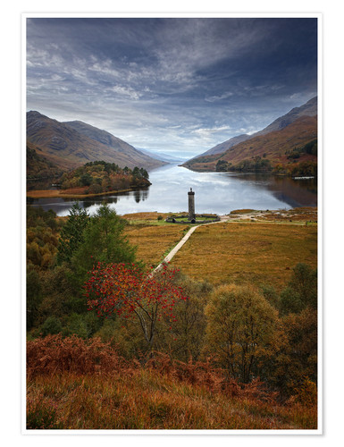 Poster Glenfinnan Monument - Scotland