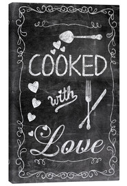 Canvas  Cooked with Love - Andrea Haase