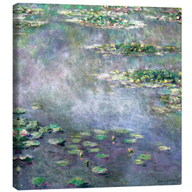 Canvas print  Water-Lily pond - Claude Monet