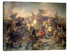 Canvas print  Hungary battle on the pitch field 955 - Michael Echter