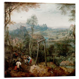 Acrylic print  The Magpie on the Gallows - Pieter Brueghel d.Ä.