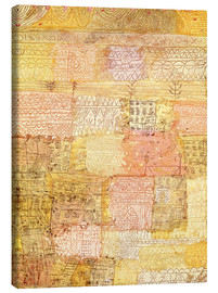 Canvas print  Villa district in Florence - Paul Klee
