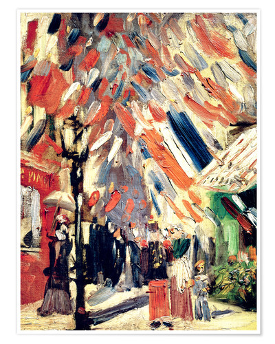 Premium poster The 14th of July. 1886