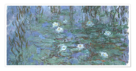 Premium poster Lily pond