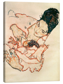 Canvas print  Nursing Mother (Stephanie Gruenwald) - Egon Schiele