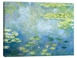 Canvas  Lily pond - Claude Monet