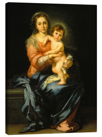 Canvas print  Madonna and Child - Bartolome Esteban Murillo