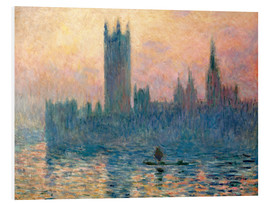 Forex  Parliament in London at sunset - Claude Monet