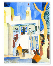 Poster  A Mosque - August Macke
