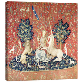 The Lady and the Unicorn: The sense of sight