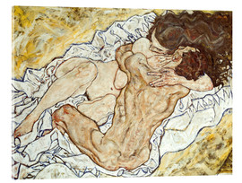 Acrylic print  The Embrace - Egon Schiele