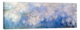 Canvas print  Waterlilies, panel B II. - Claude Monet
