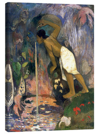 Canvas print  Holy Waters - Paul Gauguin