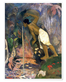 Poster  Holy Waters - Paul Gauguin