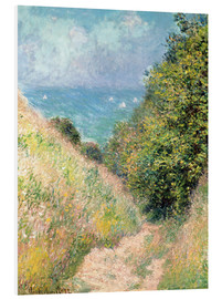 Forex  Narrow pass near Pourville - Claude Monet