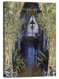 Canvas print  Apartment with Jean Monet and Camille - Claude Monet