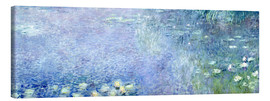 Canvas print  Waterlilies image 2 - Claude Monet