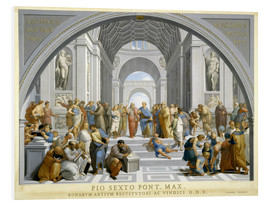 Foam board print  School of Athens (after Raphael) to 1771-79 - Giovanni Volpato