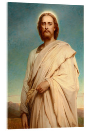 Acrylic print  Christ in the cornfield - Thomas-Francis Dicksee