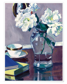 Poster  Rosen. Späte 1920er-Jahre - Francis Campbell Boileau Cadell