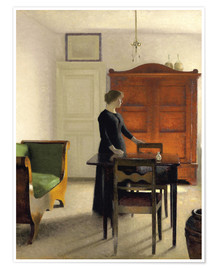 Premium poster Ida in an Interior