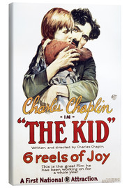 Canvas  Charlie Chaplin - The Kid, 1921