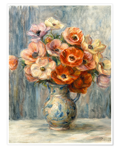 Premium poster Bouquet in ceramic jug