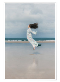 Poster  playing with the wind - Joana Kruse