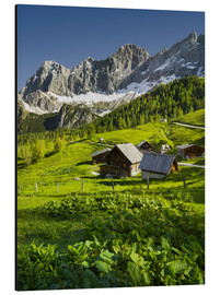 Aluminium print  Alpine Dream - Rainer Mirau