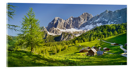 Acrylic print  Alpine Dream II - Rainer Mirau