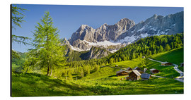 Aluminium print  Alpine Dream II - Rainer Mirau