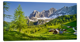 Canvas print  Alpine Dream II - Rainer Mirau