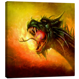 Canvas print  Dragon King - Selina Morgan