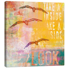 Canvas  Free birds - Andrea Haase